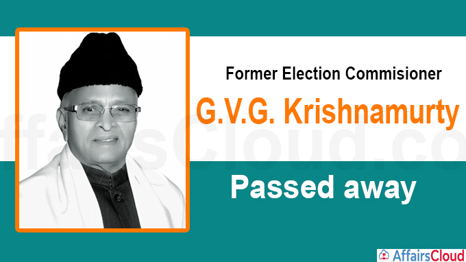 Former Chief Election Commissioner new