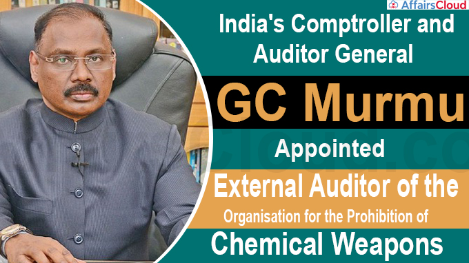 GC Murmu appointed External Auditor of the Organisation