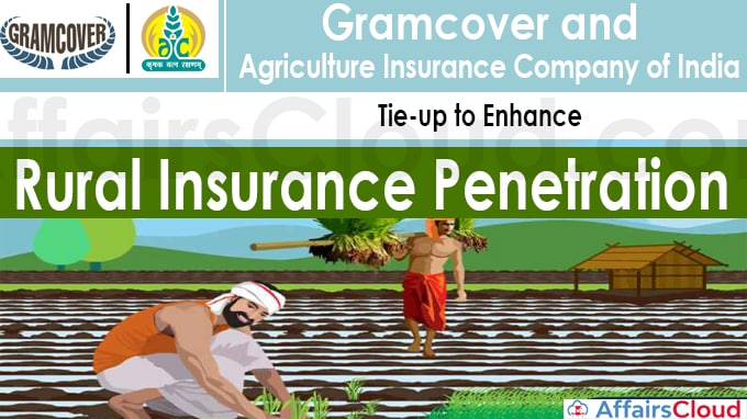 Gramcover and Agriculture Insurance Company of India tie-up