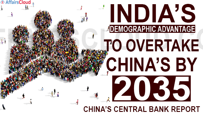 India's demographic advantage to overtake China's