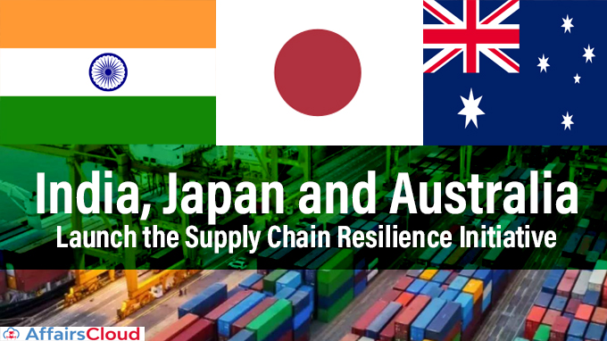 India,-Japan-and-Australia-launch-the-Supply-Chain-Resilience-Initiative