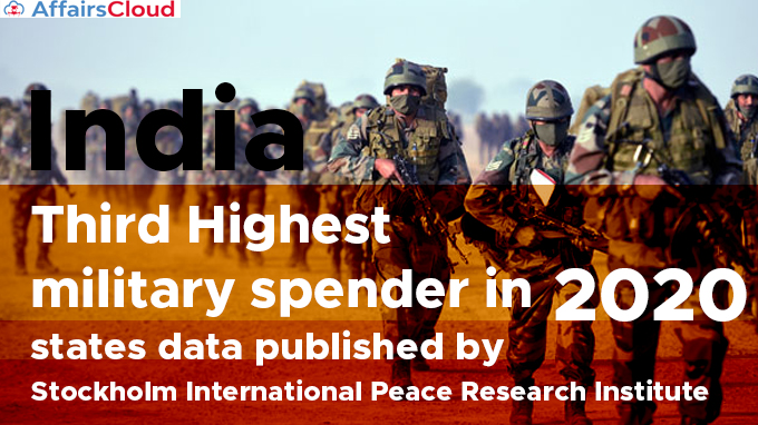 India-third-highest-military-spender-in-2020