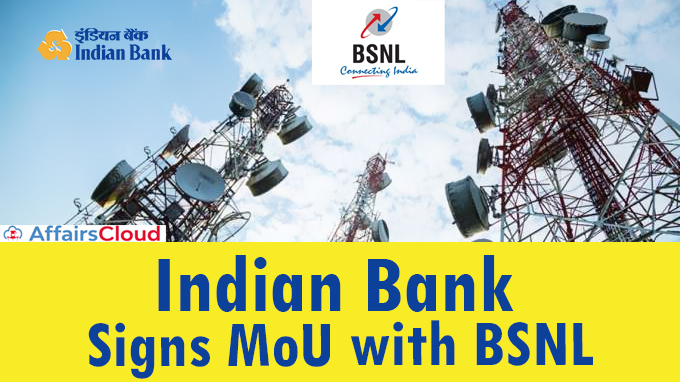 Indian-Bank-signs-MoU-with-BSNL