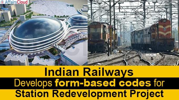 Indian Railways develops form-based codes