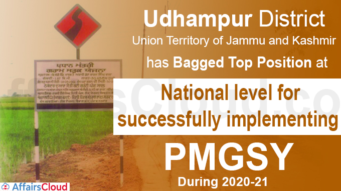 J&K Udhampur bags top position