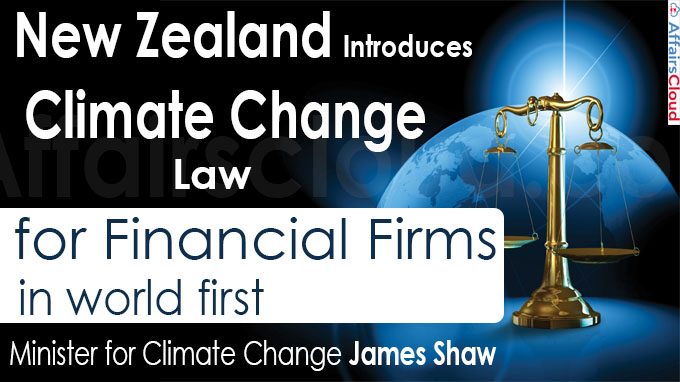 New Zealand introduces climate change law