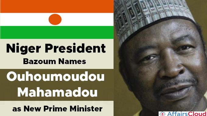 Niger-President-Bazoum-Names-Ouhoumoudou-Mahamadou-as-New-Prime-Minister