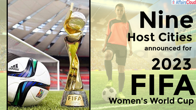 Nine Host Cities announced for 2023 FIFA Women's World Cup