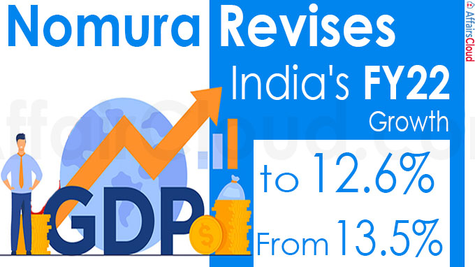 Nomura revises India's FY22 growth to 12