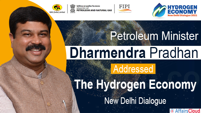 Petroleum Minister addresses the Hydrogen Economy