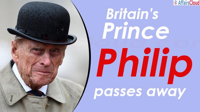 Prince Philip passes awa