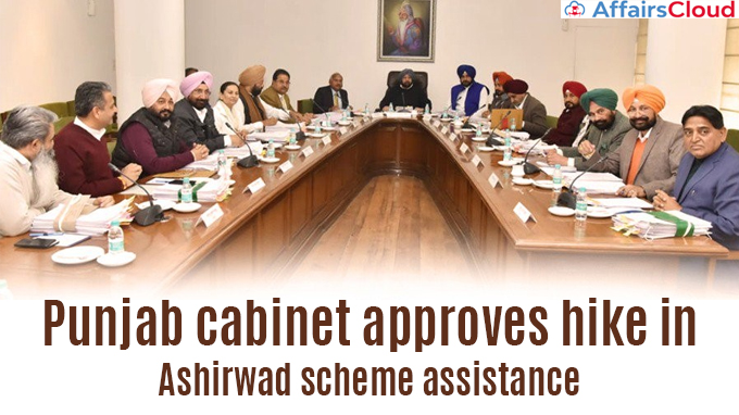 Punjab-cabinet-approves-hike-in-Ashirwad-scheme-assistance