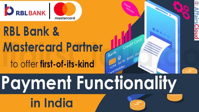 RBL Bank and Mastercard partner to offer payment functionality in India