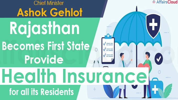 Rajasthan becomes first state to provide health insurance