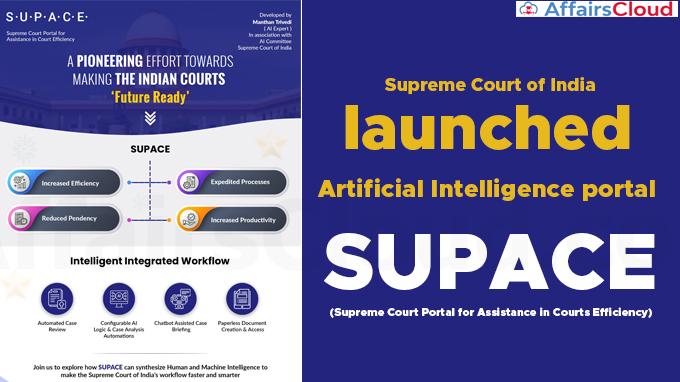 Supreme-Court-of-India--launched--Artificial-Intelligence-portal