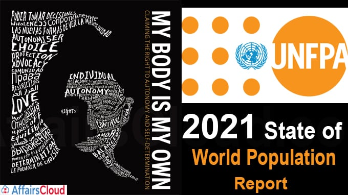 UNFPA's 2021 State of World Population report