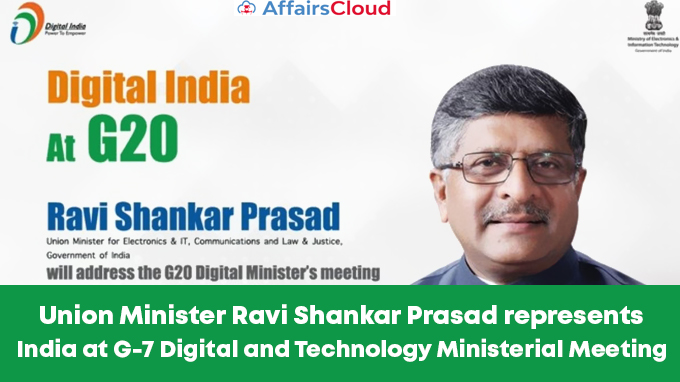Union-Minister-Ravi-Shankar-Prasad-represents-India-at-G-7-Digital-and-Technology-Ministerial-Meeting