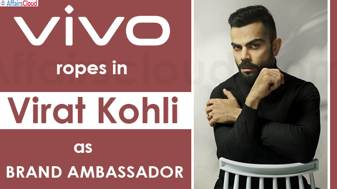 Vivo ropes in Virat Kohli as brand ambassador