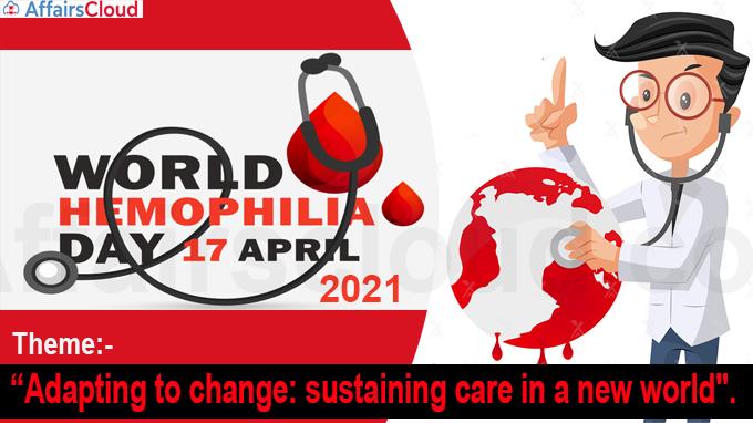 World Hemophilia Day 2021 new