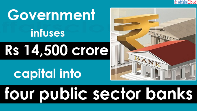 capital into four public sector banks