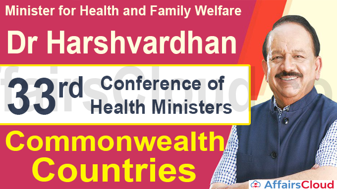 33rd Conference of Health Ministers of Commonwealth Countries