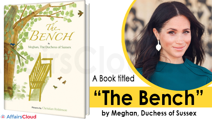 """A book titled """"The Bench"""""""
