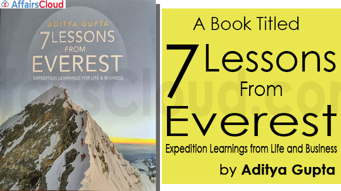 A book titled 7 Lessons from Everest – Expedition Learnings from Life