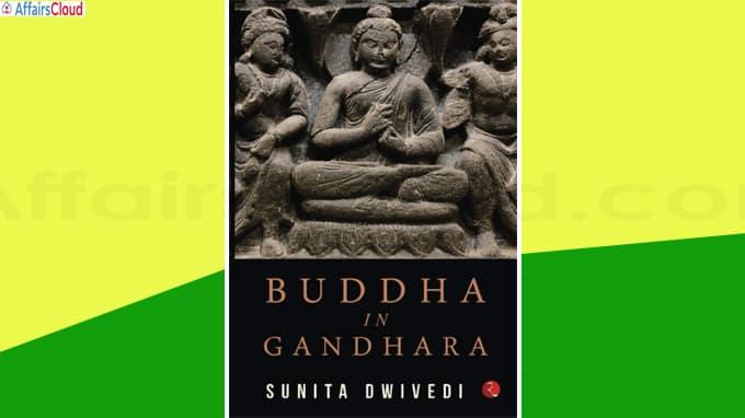 A book titled Buddha in Gandhara by Sunita Dwivedi