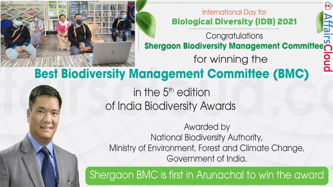 Arunachal Shergaon Biodiversity Management Committee