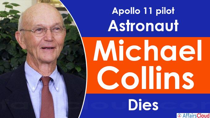 Astronaut Michael Collin