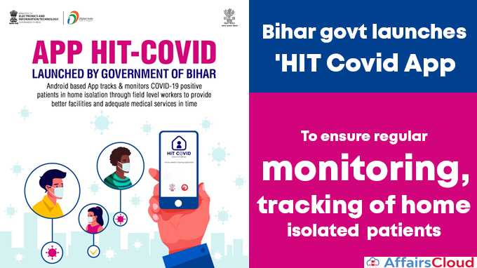 Bihar-govt-launches-'HIT-Covid-App'-to-ensure-regular-monitoring,-tracking-of-home-isolated-patients