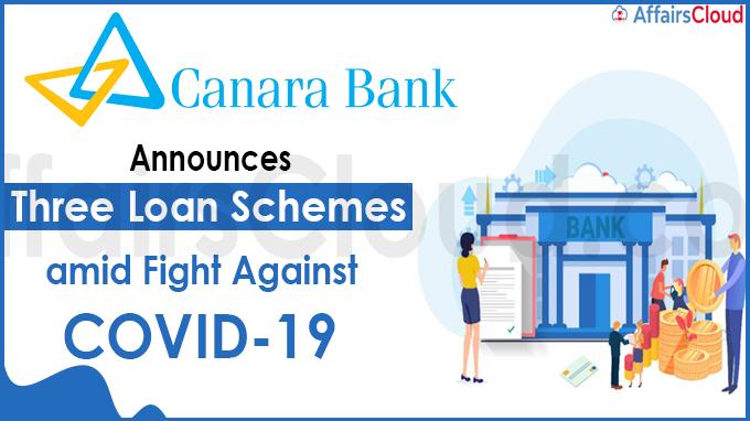 Canara Bank announces three loan schemes amid fight