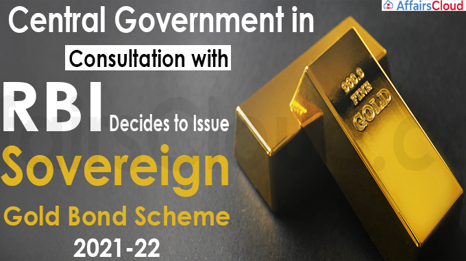 Central government in consultation with Reserve Bank