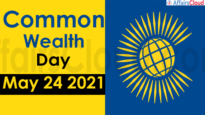 Commonwealth day India - May 24 2021