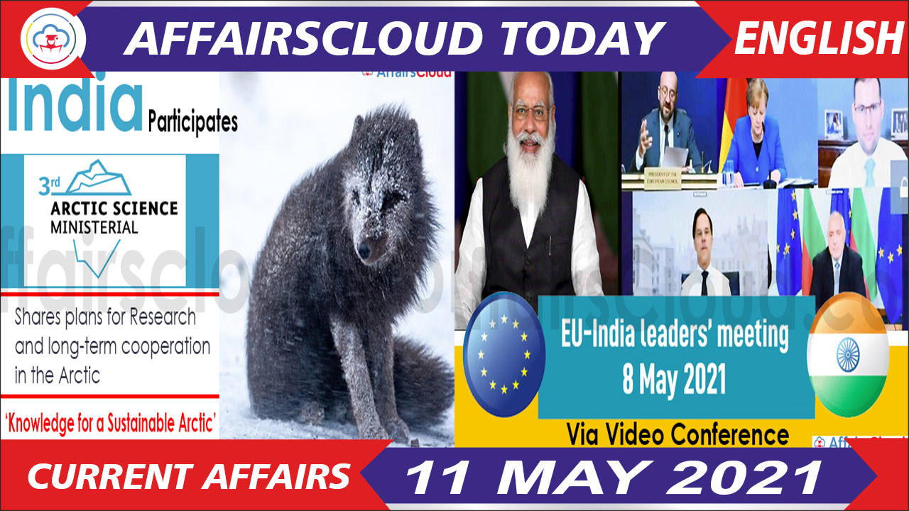 Current Affairs 11 May 2021 English