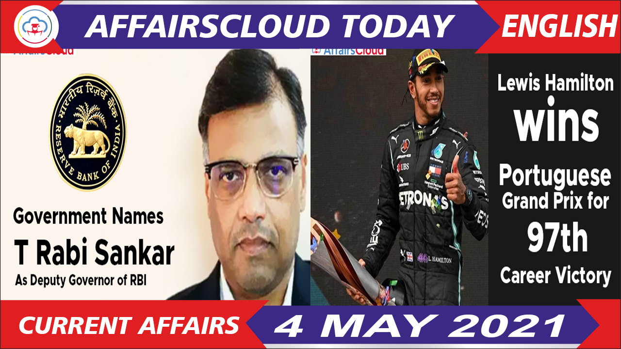 Current Affairs 4 May 2021 English