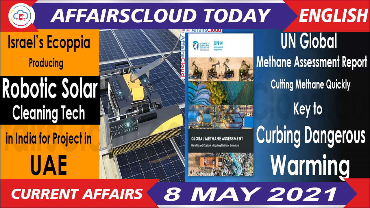 Current Affairs 8 May 2021 English