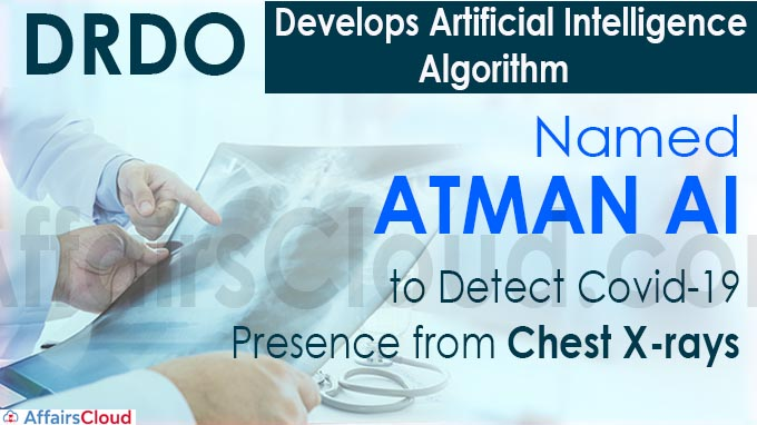 DRDO develops artificial intelligence algorithm