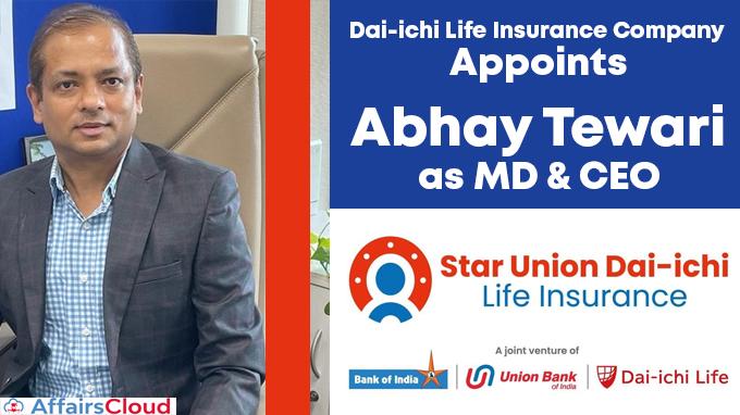Dai-ichi-Life-Insurance-Company-appoints-Abhay-Tewari-as-MD-&-CEO