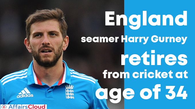 England-seamer-Harry-Gurney-retires-from-cricket-at-age-of-34
