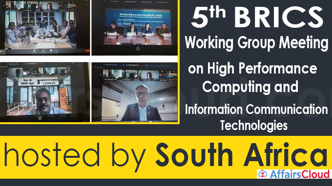 Fifth BRICS Working Group meeting on High Performance (1)
