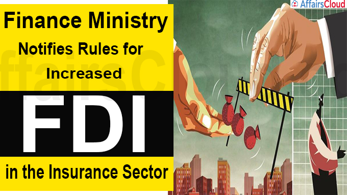 Finance Ministry notifies rules for increased FDI (1)