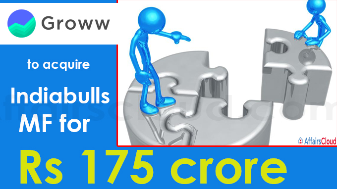 Groww to acquire Indiabulls MF for Rs 175 crore