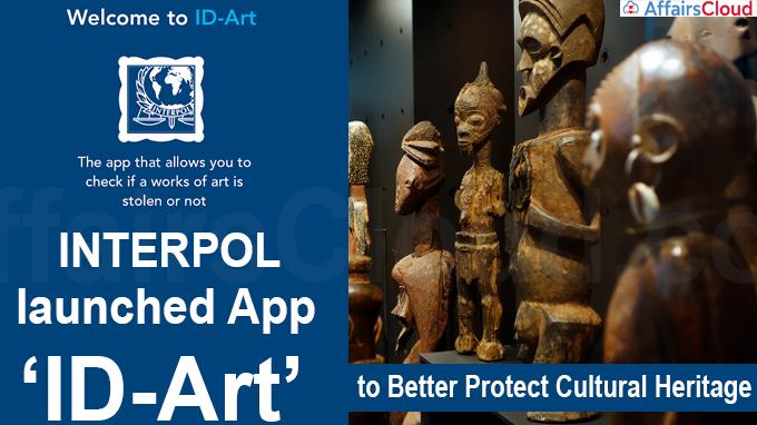 INTERPOL launches app 'ID-Art'