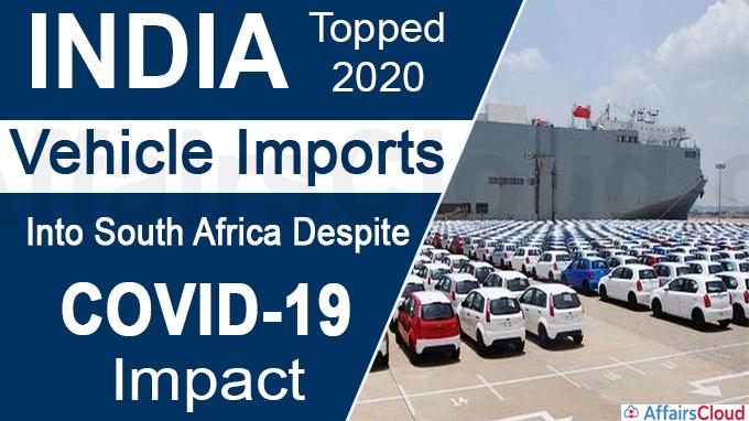 India topped 2020 vehicle imports new