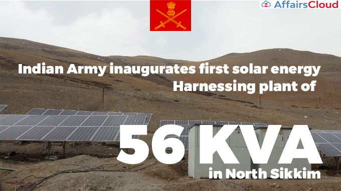 Indian-Army-inaugurates-first-solar-energy-harnessing-plant-of-56-KVA-in-North-Sikkim