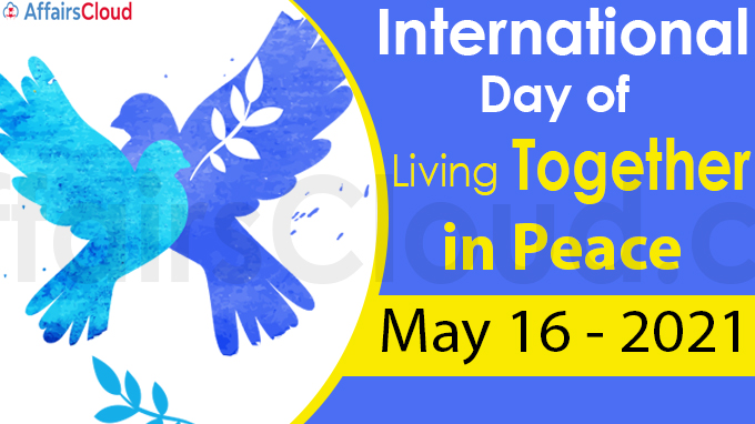 International Day of Living Together in Peace 2021