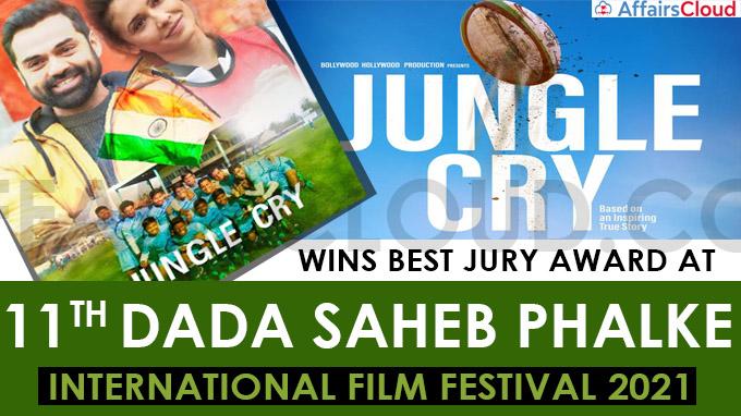 Jungle Cry wins best Jury award at 11th Dada Saheb Phalke