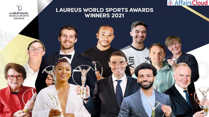Laureus World Sports Awards Winners