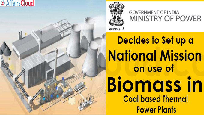 Ministry of Power decides to set up a National Mission